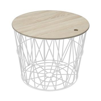 Wire Storage Table White - Room Essentials™