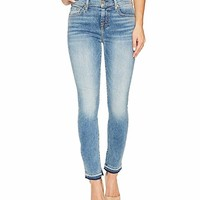 7 For All Mankind The Ankle Skinny w/ Inside Split Released Hem in Light Lafayette