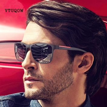 Top Quality Square Sunglasses Men Brand Design Vintage Retro Shades Sun Glasses For Men Male Sunglass UV400 lentes de sol hombre