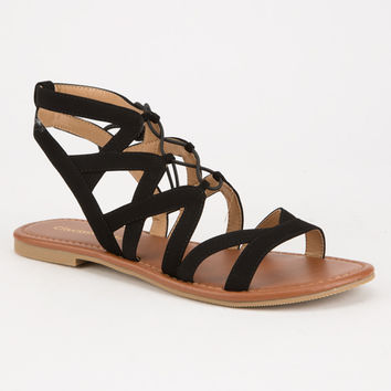 CITY CLASSIFIED Strappy Ghillie Womens Sandals | Sandals