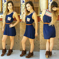 URBAN LEGENDS DRESS IN NAVY