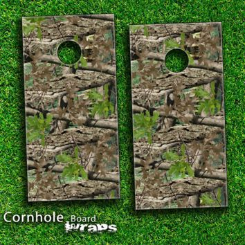 Camouflage V3 Skin-set for a pair of Cornhole Boards
