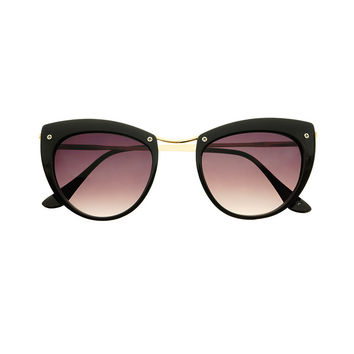 Designer Fashion Womens Cat Eye Sunglasses C1730