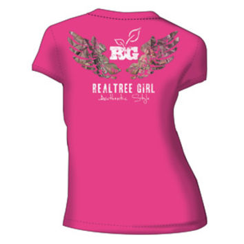 Realtree Girl Xtra Wings Fitted T-Shirt