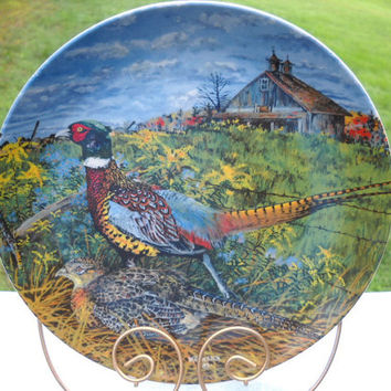 "The Pheasant Plate by Wayne Anderson - Limited Ed. 1968 ""The Pheasant"" Plate by Wayne Anderson -"