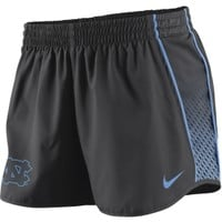 Nike Women's North Carolina Tar Heels Charcoal Stealth Pacer Performance Shorts - Dick's Sporting Goods