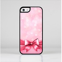 The Magical Pink Bow Skin-Sert Case for the Apple iPhone 5c
