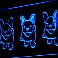 French Bulldog Puppies LED Neon Light Sign