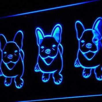 French Bulldog Puppies Neon Sign (LED)