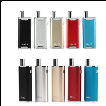 Yocan Hive Kit & Yocan Hive 2.0 2 Kind of Atomizer For Wax & Oil electronic cigarettes vape pen vaporizer Yocan Box Mods