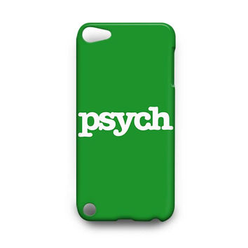 PSYCH Detective Agency iPod Touch 4, 5 Case Cover