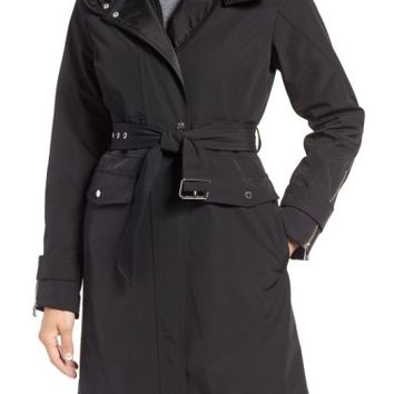 Vince Camuto Hooded Trench Coat | Nordstrom