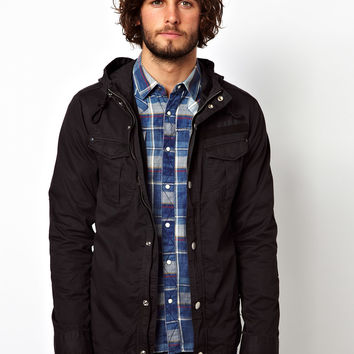G-Star Overshirt Jacket Filch Hooded
