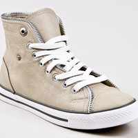 Breckelle's NEO-14 Lace Up Zipper Sneakers