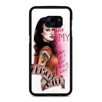 Orange Is The New Black Alex Vause 4  Samsung Galaxy S7 Edge Case