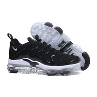 2018 Nike Air VaporMax Plus TN Black White Sport Running Shoes - Best Online Sale