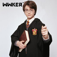 Harry Potter polyester Magic Robe Cosplay Costumes Gryffindor/Slytherin/Ravenclaw/Hufflepuff Free shipping