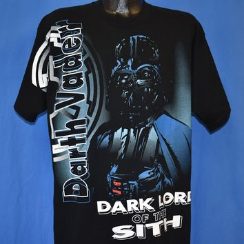 90s Star Wars Darth Vader Dark Lord of the Sith t-shirt Extra Large