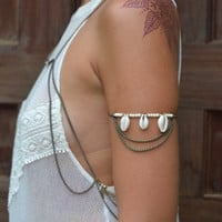 Talulah Arm Cuff / Anklet - Bronze
