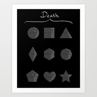 Sith geometry lessons Art Print by AGRIMONY // Aaron Thong