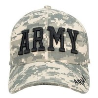 Rothco Rothco Deluxe Low Profile Cap/Army- Acu Digital