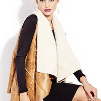 Southbound Faux Shearling Vest