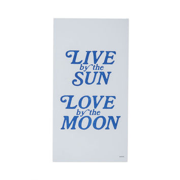 """Live By The Sun / Love By The Moon"" by Margins Imprint"