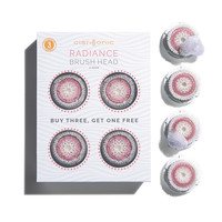 Radiance Brush Head Value 4-Pack for Skin Brightening - Clarisonic