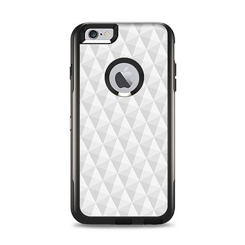 The White Studded Seamless Pattern Apple iPhone 6 Plus Otterbox Commuter Case Skin Set