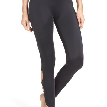Beyond Yoga Compression Lux High Waist Half Moon Crop Leggings | Nordstrom