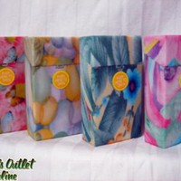 Floral Plastic Cigarette Cases - King