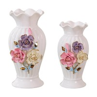 Ceramic Flower Vase Decoration