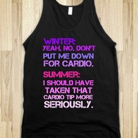 Don't put me down for cardio - Best Movies in the Whole World