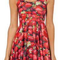Strawberry Skater Dress