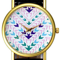 Multicoloured Arrows Theme Unisex Wrist Watch-Buy One Get One Free Limited Time Offer