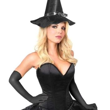 Daisy Top Drawer Witch Corset Costume
