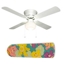 "Care Bears Clouds 42"" Ceiling Fan and Lamp"