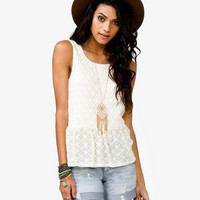 Knotted Lace Top