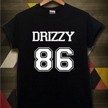 Drake Drizzy Shirt Drizzy 86 Tshirt Black Color Unisex Size - 054