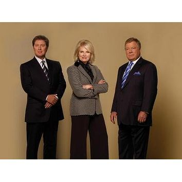 Boston Legal Cast poster Metal Sign Wall Art 8in x 12in