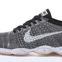 NFZA005 - Nike Flyknit Fit Zoom Agility (Wolf Grey/White)