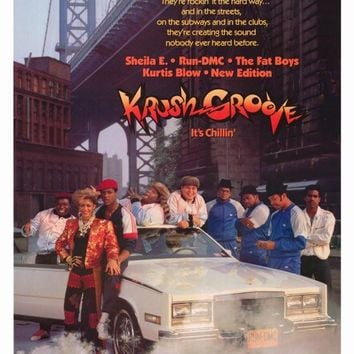 Krush Groove 27x40 Movie Poster (1985)