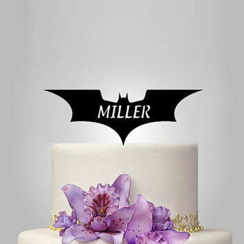 dark knight cake topper, dark knight birthday cake topper, disney wedding cake topper, personalize cake topper, unique cake topper