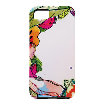 CayenaBlanca Floral Frame Cell Phone Case