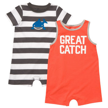 2-Pack Romper Set