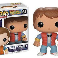 Funko Pop Movies: Back to The Future - Marty McFly Vinyl Figure