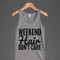WEEKEND HAIR DON'T CARE TANK TOP (IDB520020)