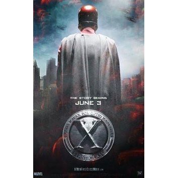 X-Men First Class poster Metal Sign Wall Art 8in x 12in