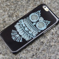 Turquoise OWL iPhone XR Case Cool iPhone 5 SE  Case Samsung Galaxy S8 S6  S3 Note 2 Note 3 Case Animal Print 015