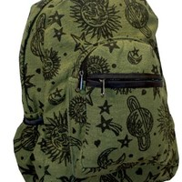 Sun Moon Planets and Stars Celestial Backpack